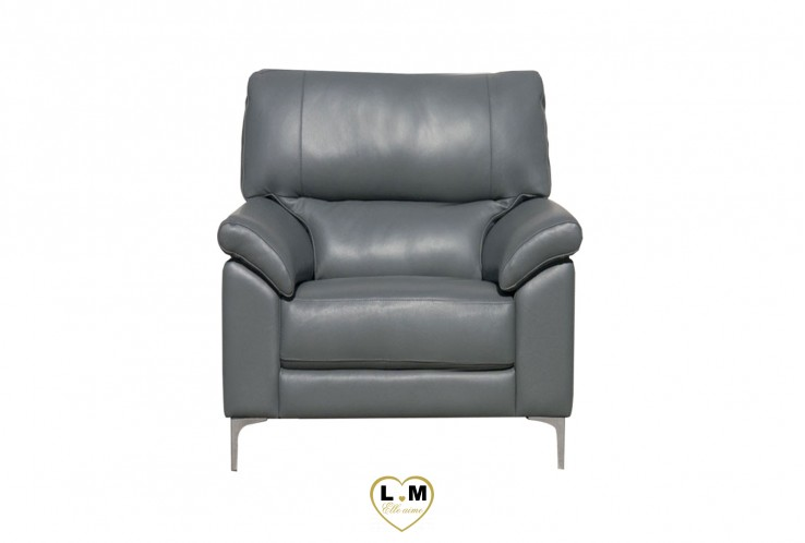 SAN ANTONIO ENSEMBLE SALON CUIR  : Fauteuil 1 Place