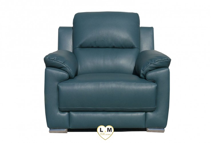 DALLAS ENSEMBLE SALON CUIR  : Fauteuil 1 Place