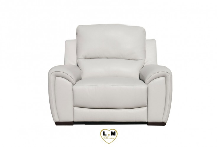 SEATTLE ENSEMBLE SALON CUIR  : Fauteuil 1 Place