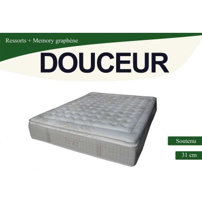 douceur matelas ressorts le matelas 90x190 cm lignemeuble com. Black Bedroom Furniture Sets. Home Design Ideas