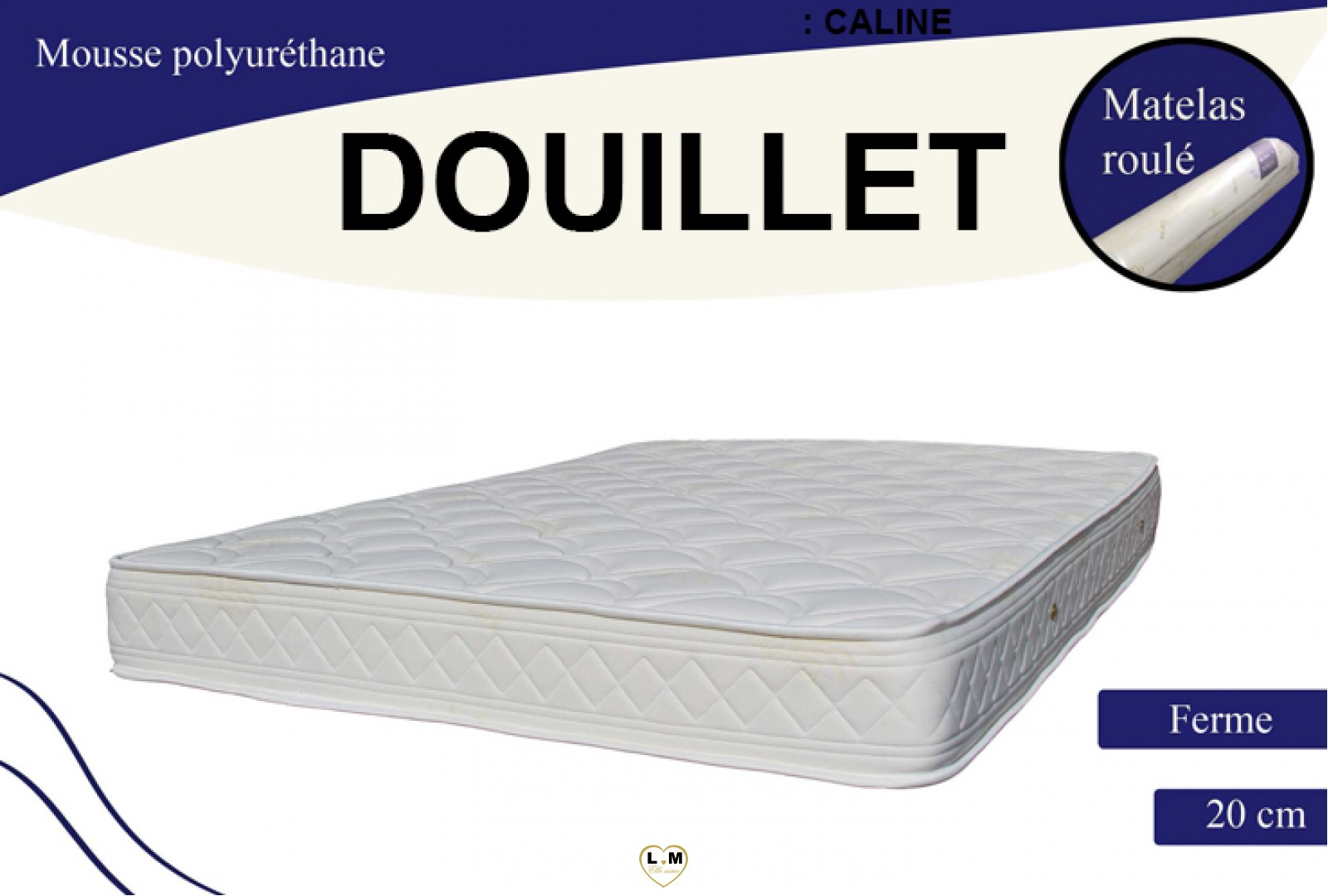 douillet matelas mousse le matelas 140x190 cm lignemeuble com. Black Bedroom Furniture Sets. Home Design Ideas
