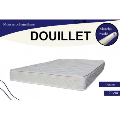 DOUILLET MATELAS MOUSSE ; Le Matelas 90x190 cm.