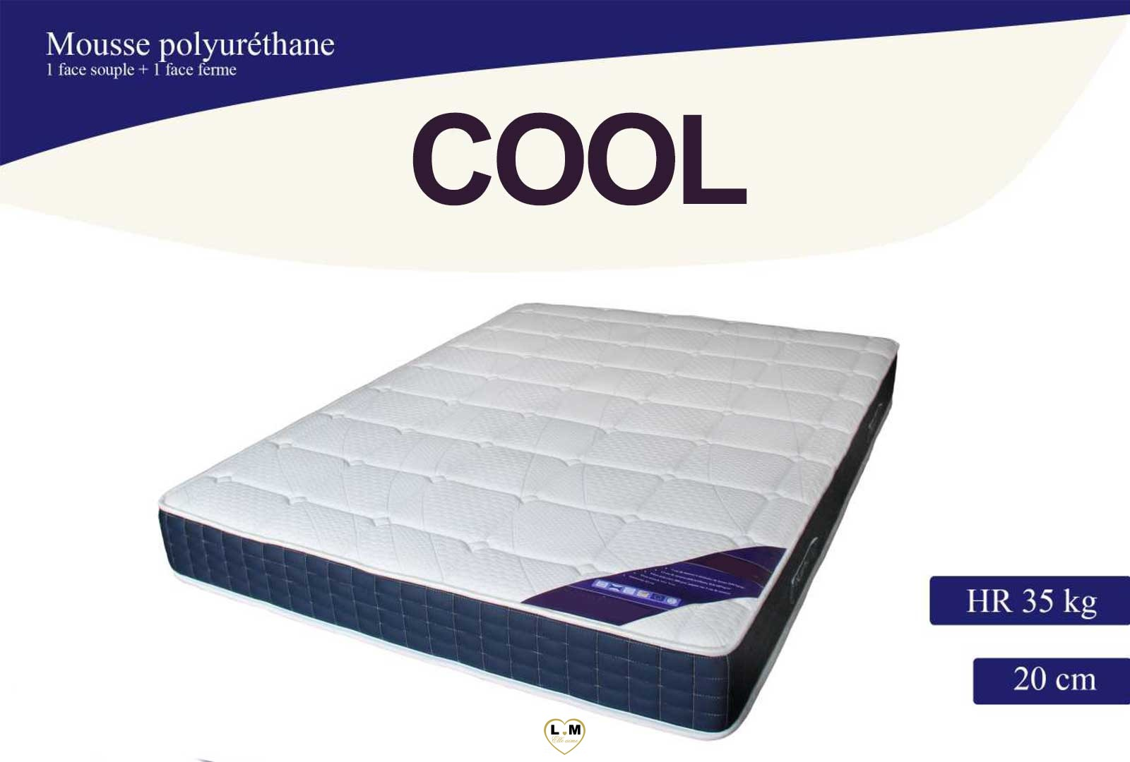 cool matelas mousse le matelas 140x190 cm lignemeuble com. Black Bedroom Furniture Sets. Home Design Ideas