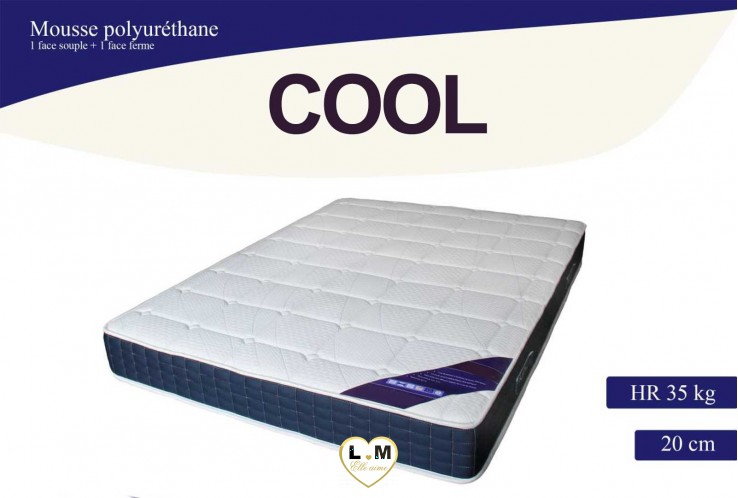 COOL MATELAS MOUSSE EN 3 DIMENSIONS