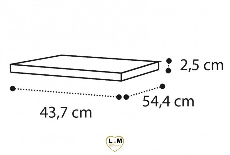 ARMOIRE AMÉNAGEMENT INTÉRIEUR : Tablette supplémentaire pour module 1 porte