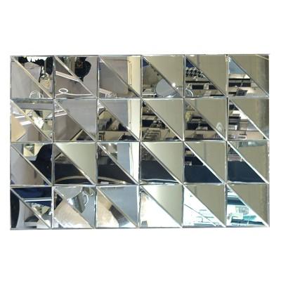Losange grand miroir murale lignemeuble com for Miroir emde deco