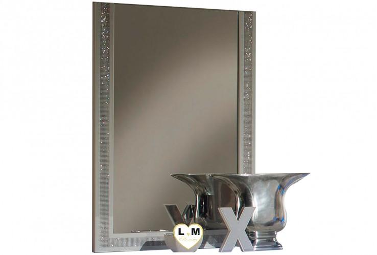 BACCARA LAQUE NOIR ET BLANC CHAMBRE À COUCHER DESIGN : Le Miroir