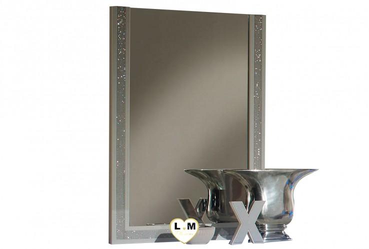 BACCARA LAQUE BLANC CHAMBRE À COUCHER DESIGN : Le Miroir
