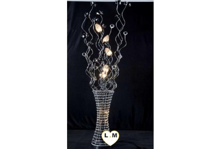 LAMPE DIAMANT LED OR