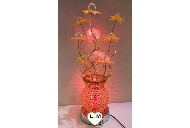 LAMPE DOT LED ORANGE