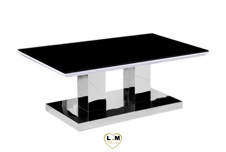 KALFA TABLE BASSE NOIR