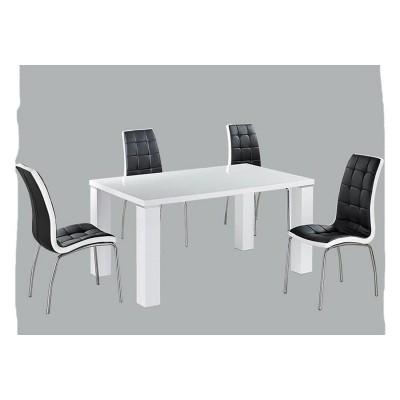 TABLE REPAS SIMPLY BLANC