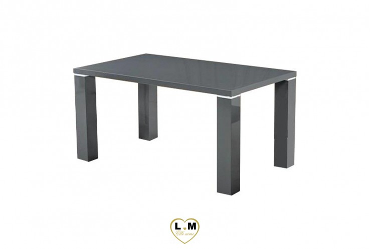 TABLE BASSE SIMPLY GRIS