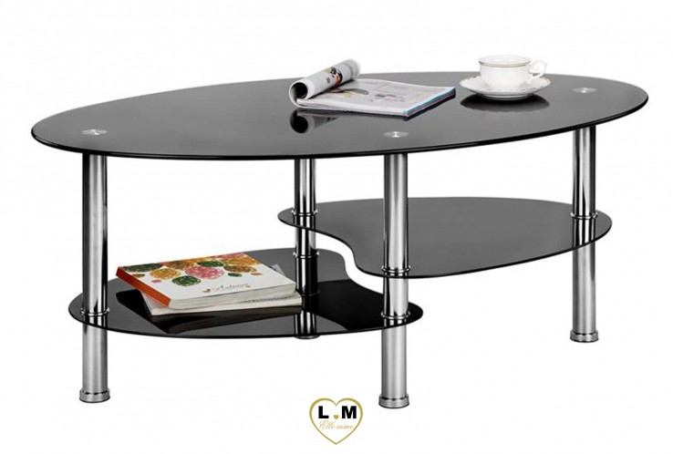 JAQUET TABLE BASSE NOIR