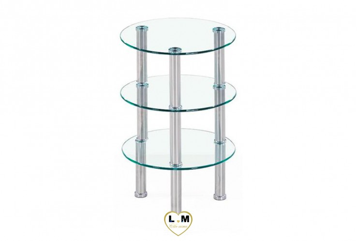 LACHAUD TABLE BASSE TRANSPARENT