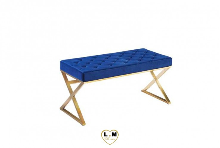 AILLY BANQUETTE GOLD BLEU