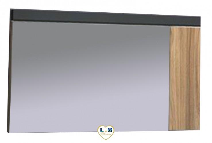 TAHITI GRIS ET CHÊNE CHAMBRE À COUCHER MODERNE : Le Miroir