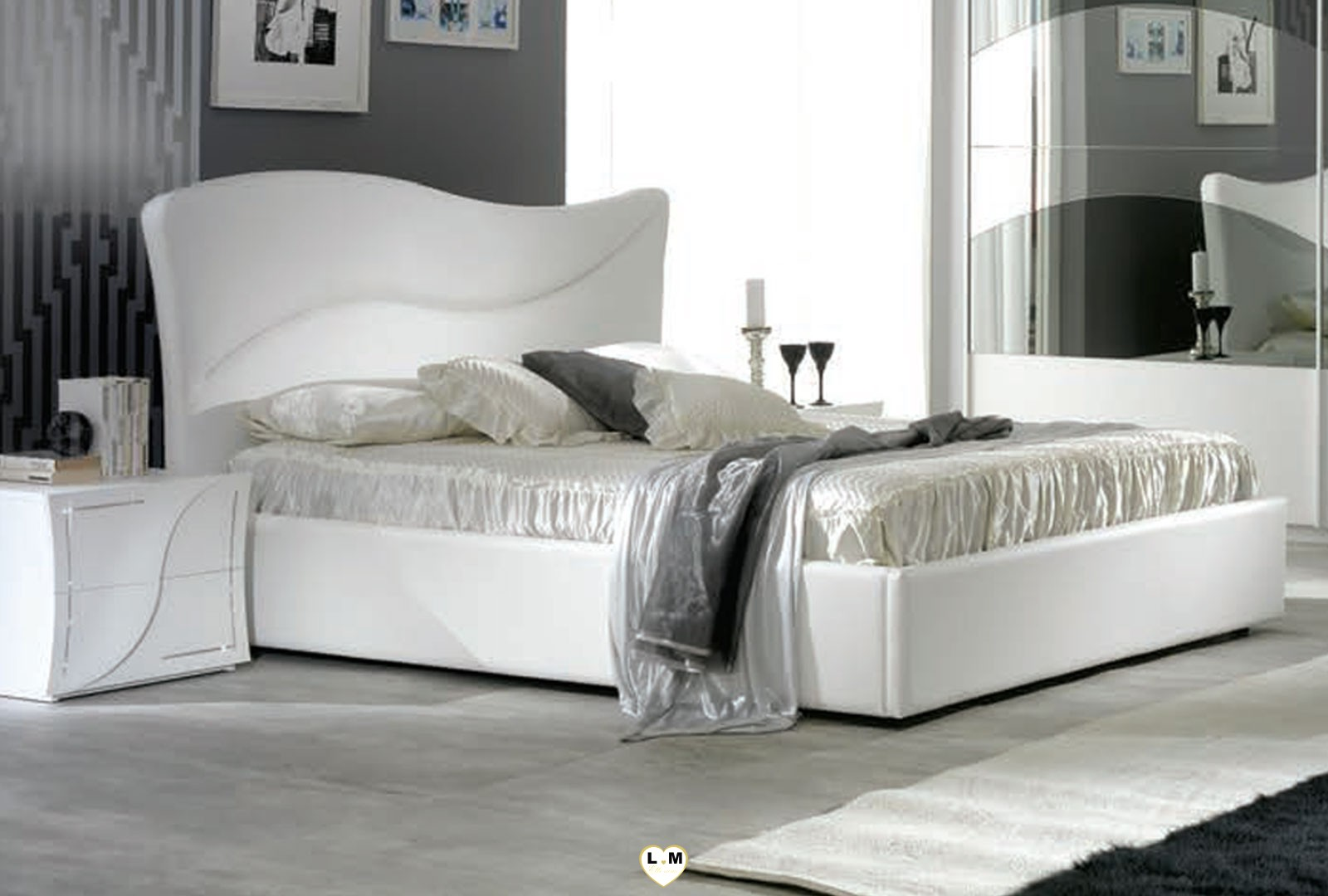tabata laque blanc ensemble chambre a coucher design