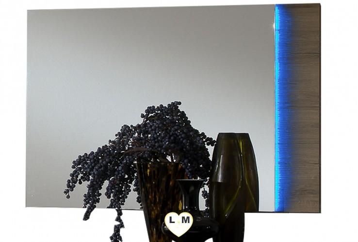 TENNESSEE CHÊNE CHAMBRE À COUCHER MODERNE : Le Miroir