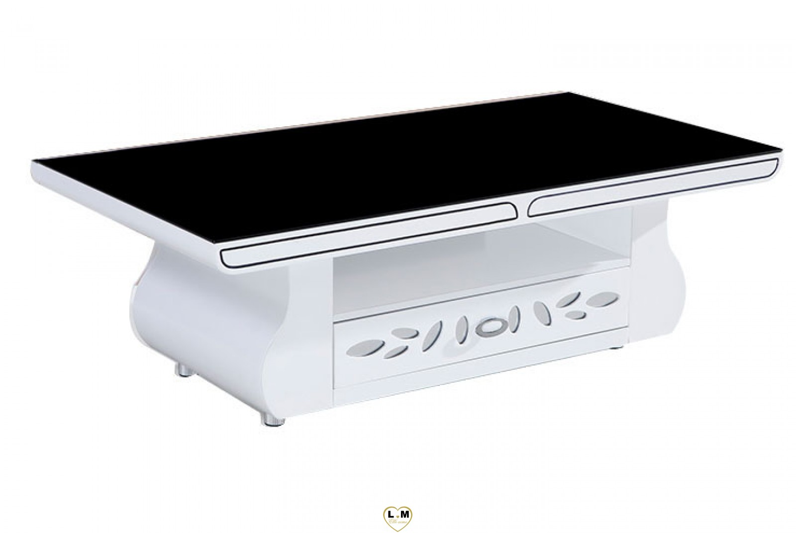 table basse up table basse slim irony x x h cm zeus blanc. Black Bedroom Furniture Sets. Home Design Ideas