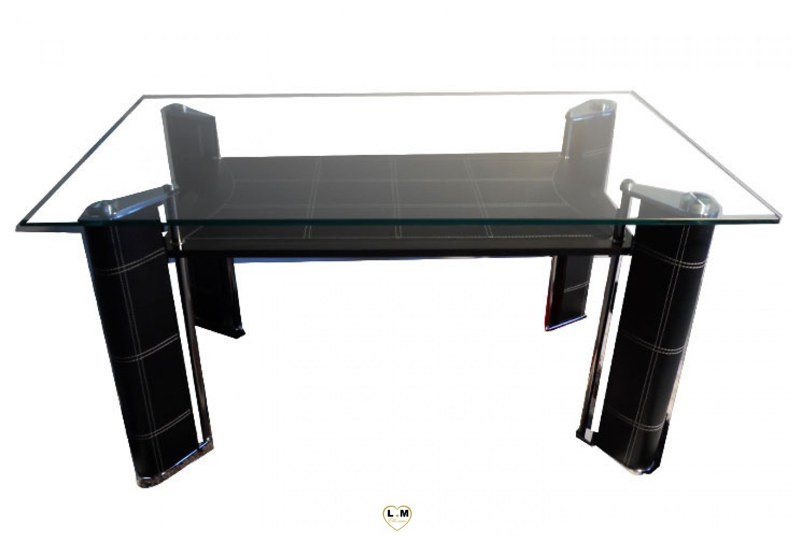 t812 table salle a manger noir plateau verre votre site. Black Bedroom Furniture Sets. Home Design Ideas
