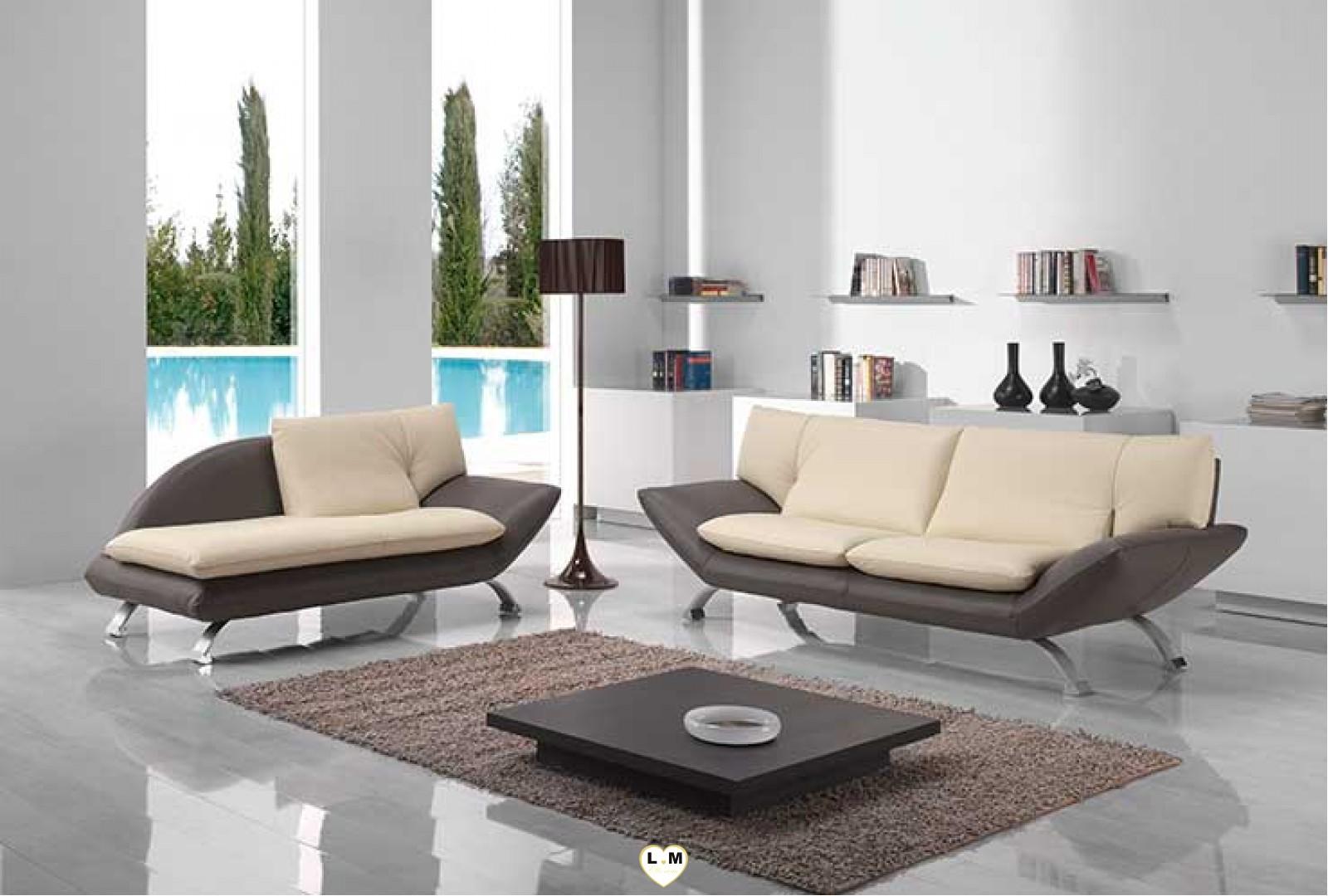 berenice salon cuir l 39 ensemble canapes 3 places dormeuse meridienne gauche2 places a s. Black Bedroom Furniture Sets. Home Design Ideas