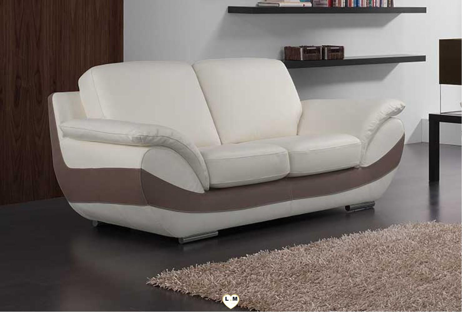 bruna ensemble salon cuir lignemeuble com. Black Bedroom Furniture Sets. Home Design Ideas