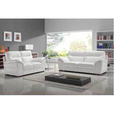 caline salon cuir l 39 ensemble canapes 3 2 places a b lignemeuble com. Black Bedroom Furniture Sets. Home Design Ideas