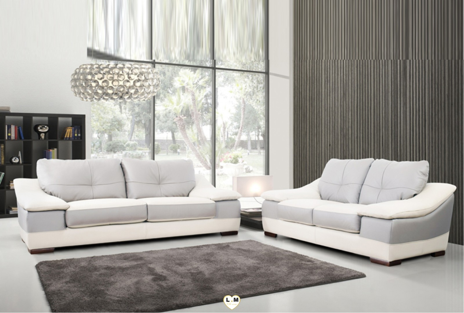carmen ensemble salon cuir lignemeuble com. Black Bedroom Furniture Sets. Home Design Ideas