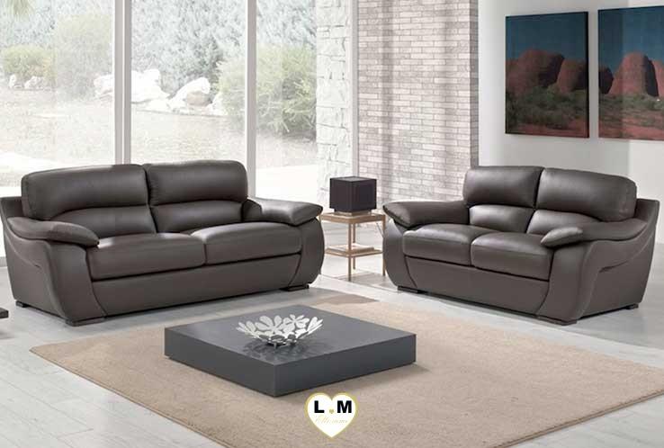 catherine ensemble salon cuir lignemeuble com. Black Bedroom Furniture Sets. Home Design Ideas