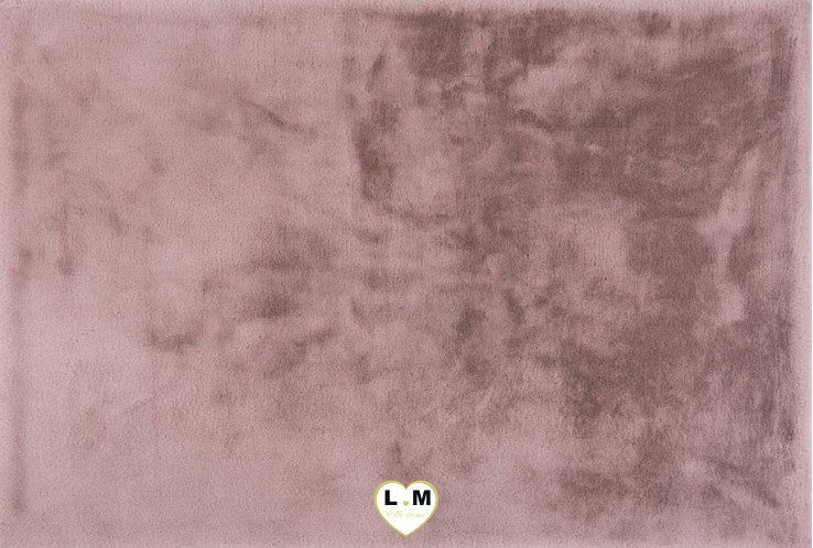 HEAVEN TAPIS POLYESTER ROSE