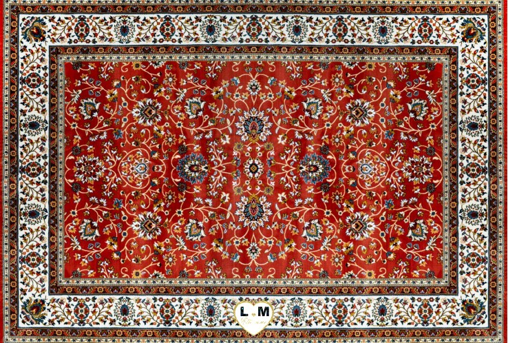 CLASSIC TAPIS POLYESTER ROUILLE