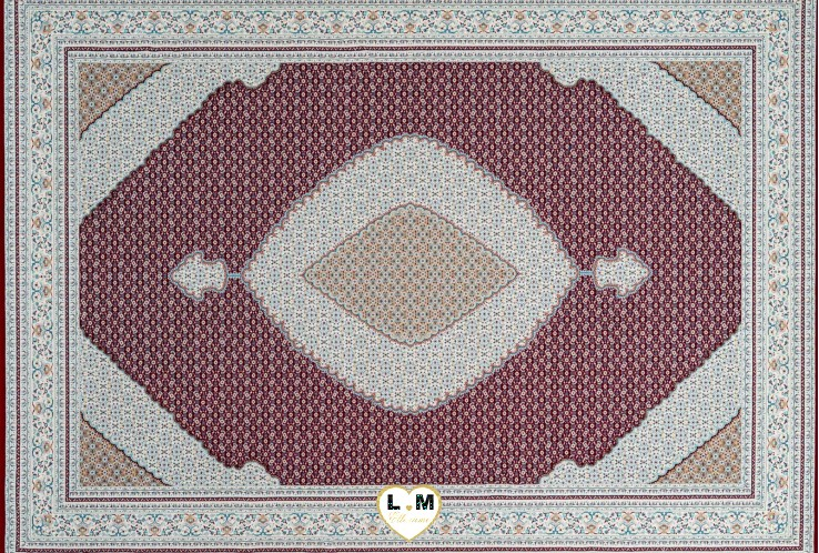 ROYAL TAPIS POLYPROPYLENE ROUGE
