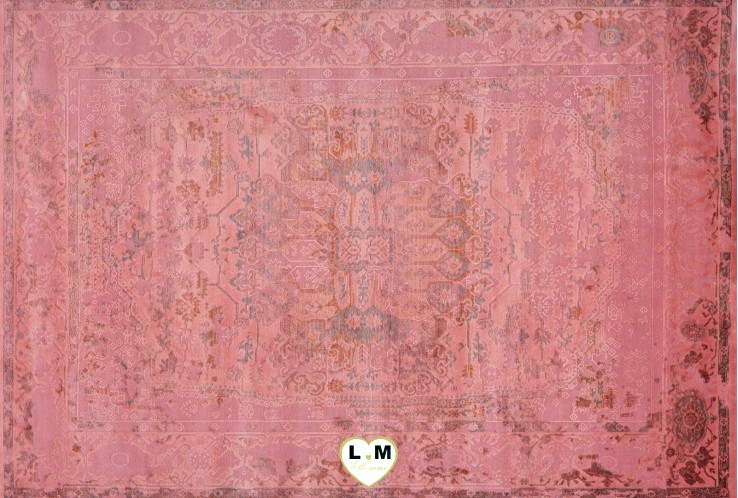 FASHION TAPIS ACRYLIQUE ROUGE