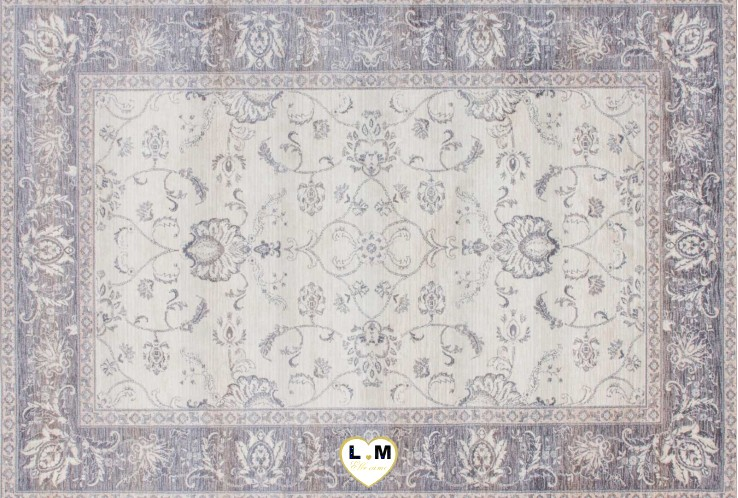 VINTAGE TAPIS POLYESTER IVOIRE