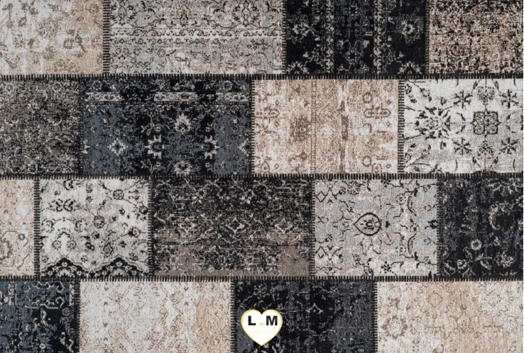 COCOON TAPIS POLYESTER ARGENT