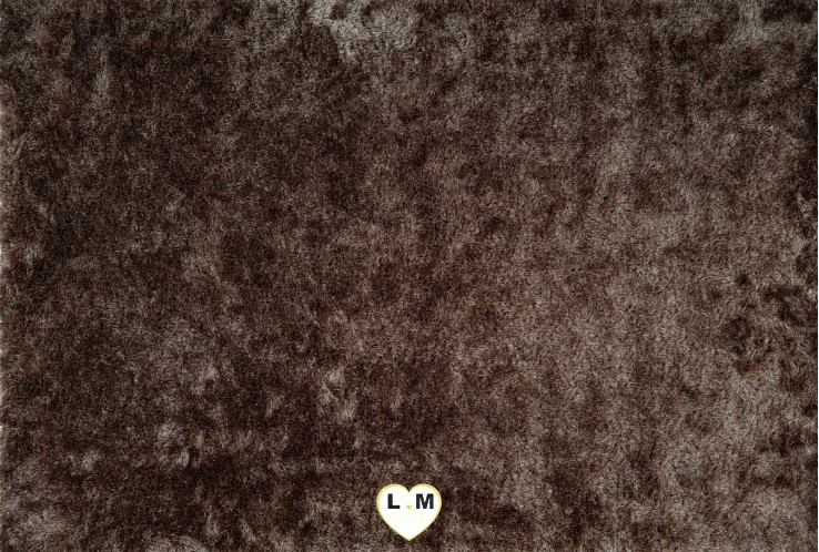 TWIST TAPIS POLYESTER MARRON