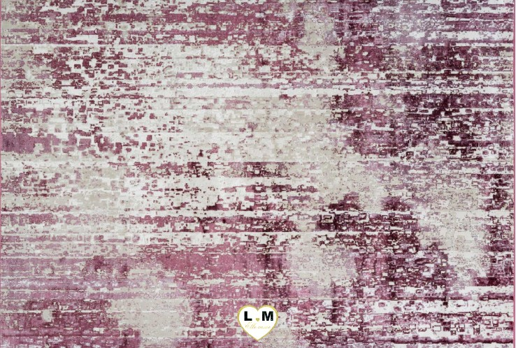 ELYSEE TAPIS VISCOSE ROSE
