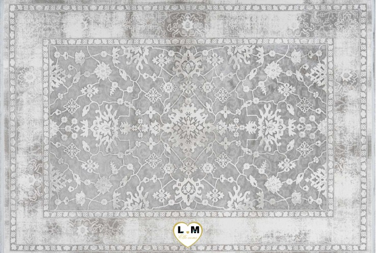 OPERA TAPIS POLYESTER ARGENT