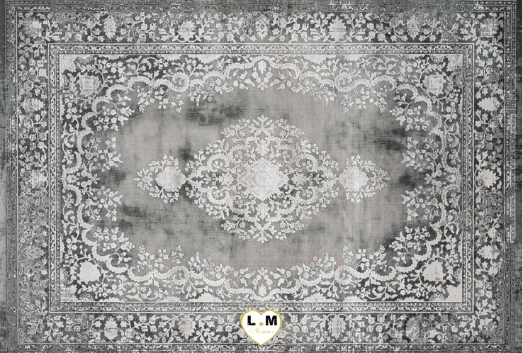 ORSAY TAPIS ACRYLIQUE ARGENT