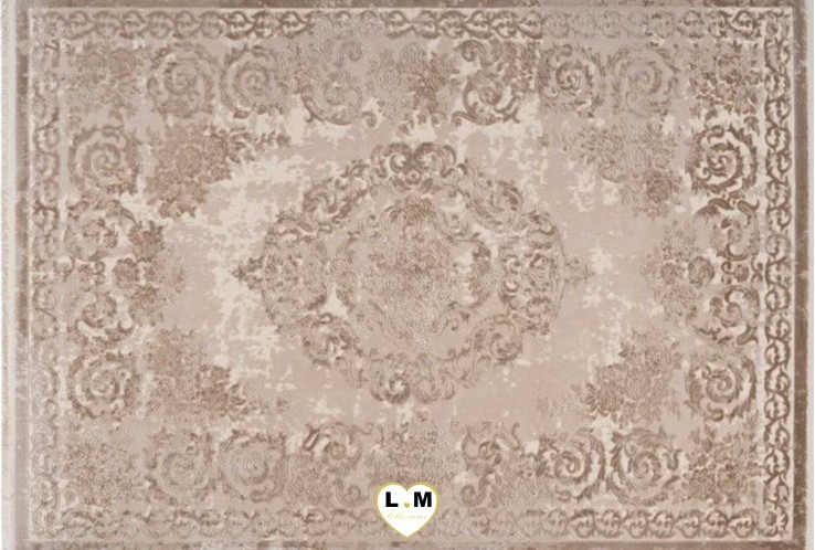 VENDOME TAPIS ACRYLIQUE BEIGE