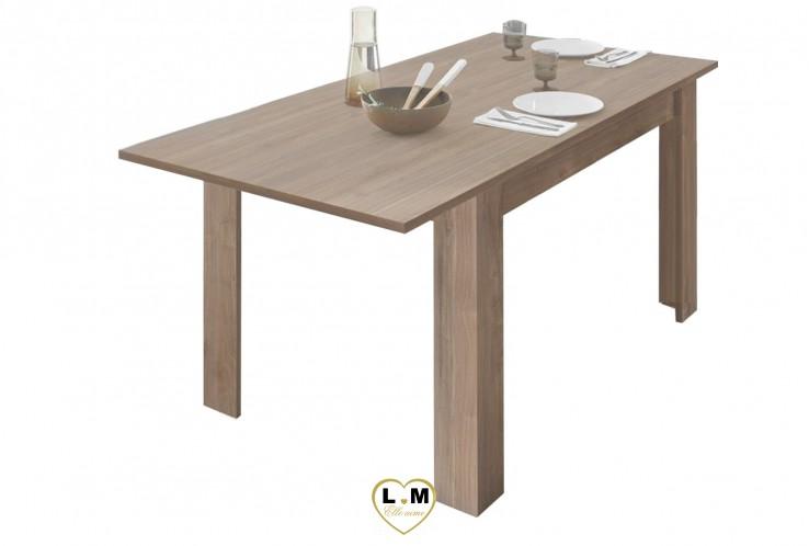 LAETICIA CHÊNE DE CADIX SÉJOUR SALLE À MANGER NATURE : La Table Repas Allonge