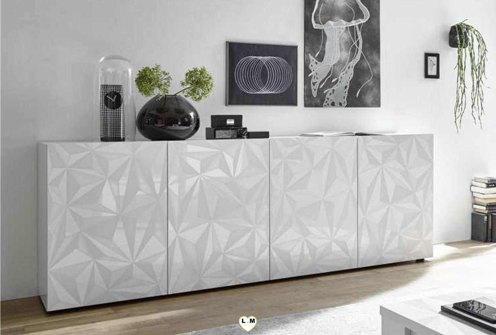 lovely laque blanc sejour salle a manger design le. Black Bedroom Furniture Sets. Home Design Ideas