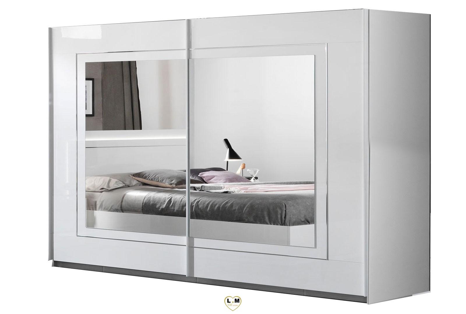 armoire chambre a coucher sirolo laque blanc chambre a coucher moderne les freins