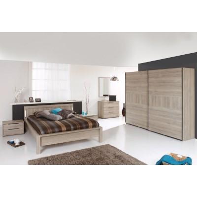Marylis bois chene original ensemble chambre a coucher lignemeuble com - Ensemble chambre a coucher adulte ...