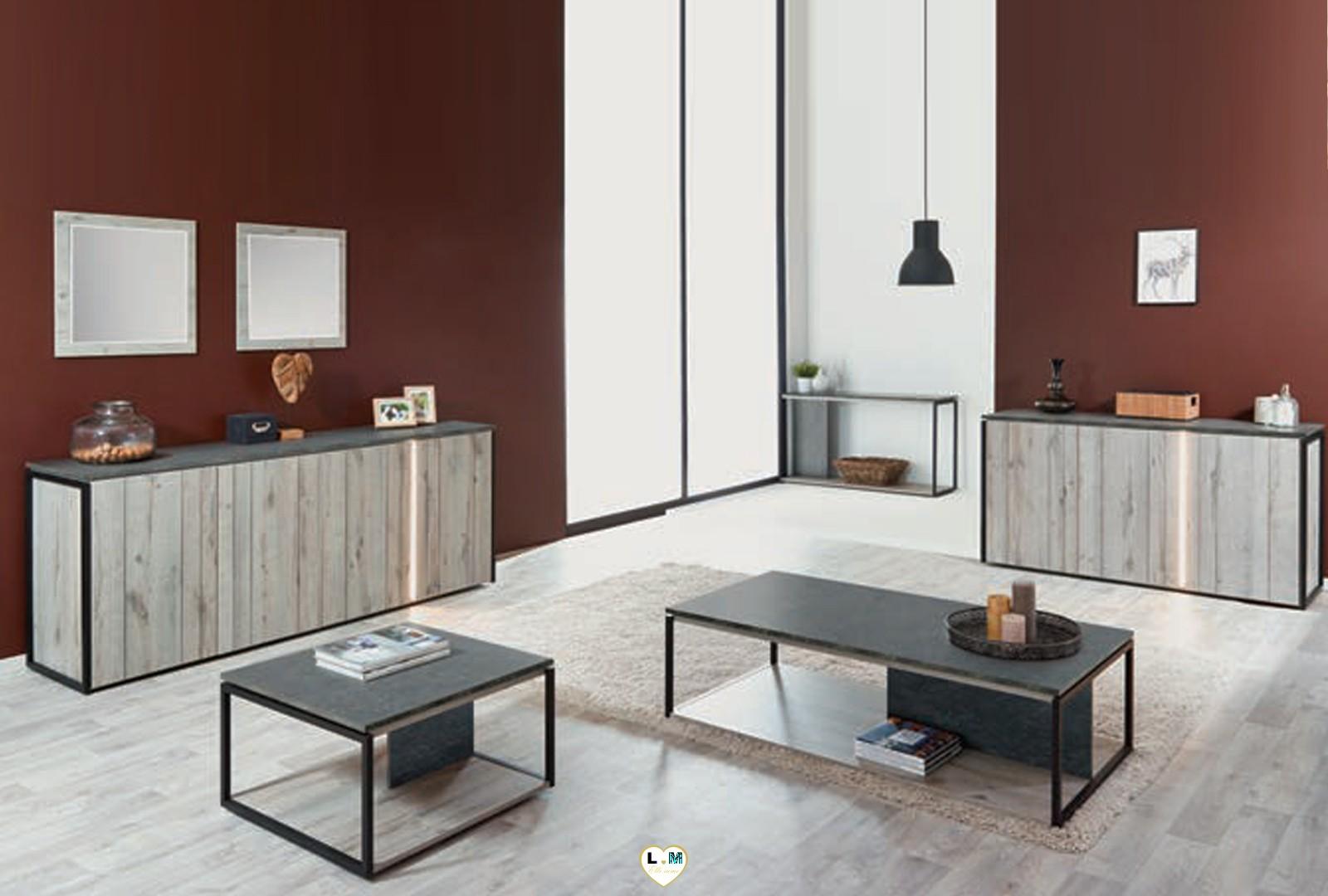 macarena bois chene excalibur ensemble sejour salle a. Black Bedroom Furniture Sets. Home Design Ideas