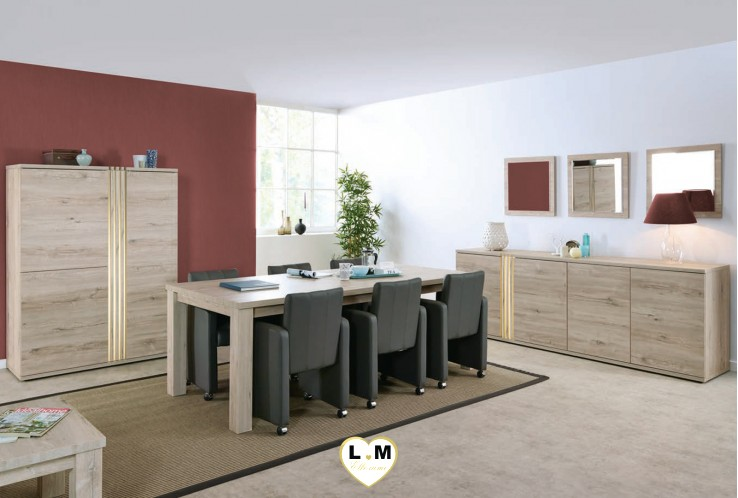 ensemble salle a manger lignemeuble com. Black Bedroom Furniture Sets. Home Design Ideas