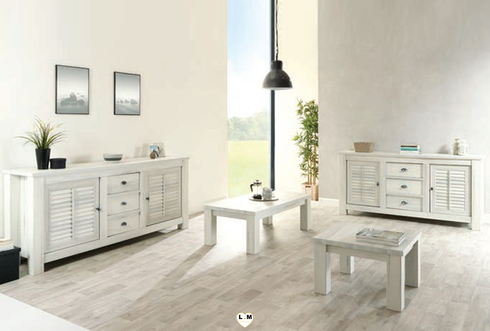 Best salle a manger bois blanc vieilli pictures awesome for Table salle a manger complet