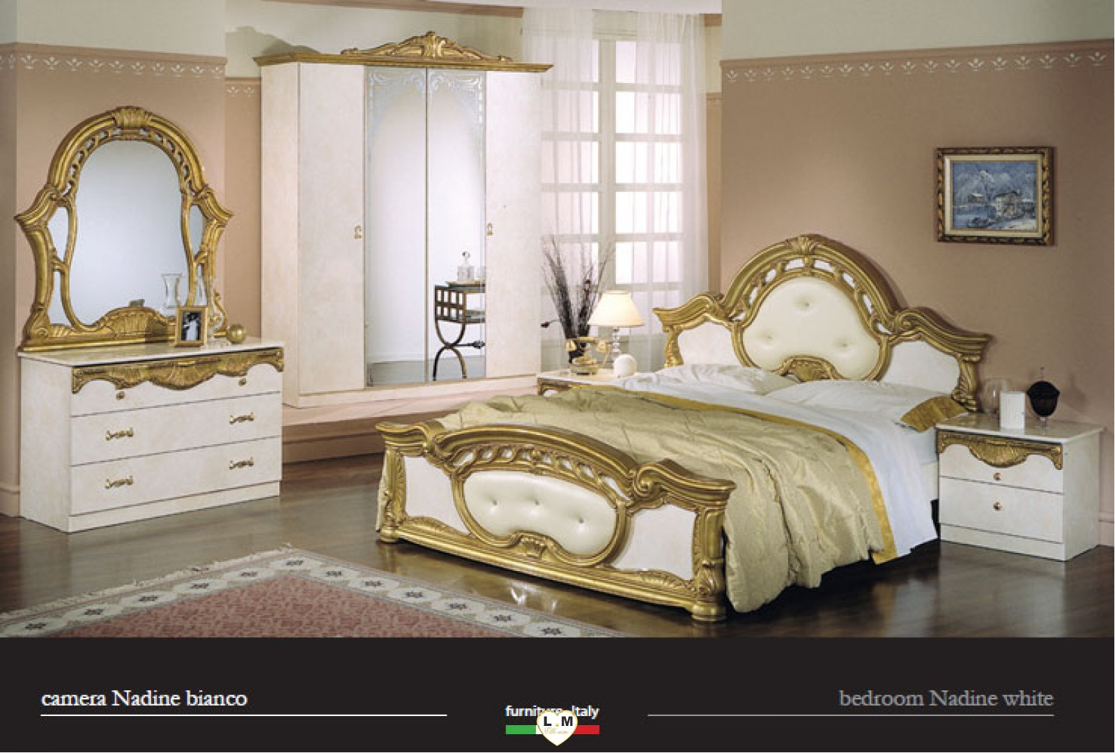 Stunning chambre italienne pas cher photos design trends for Catalogue chambre a coucher