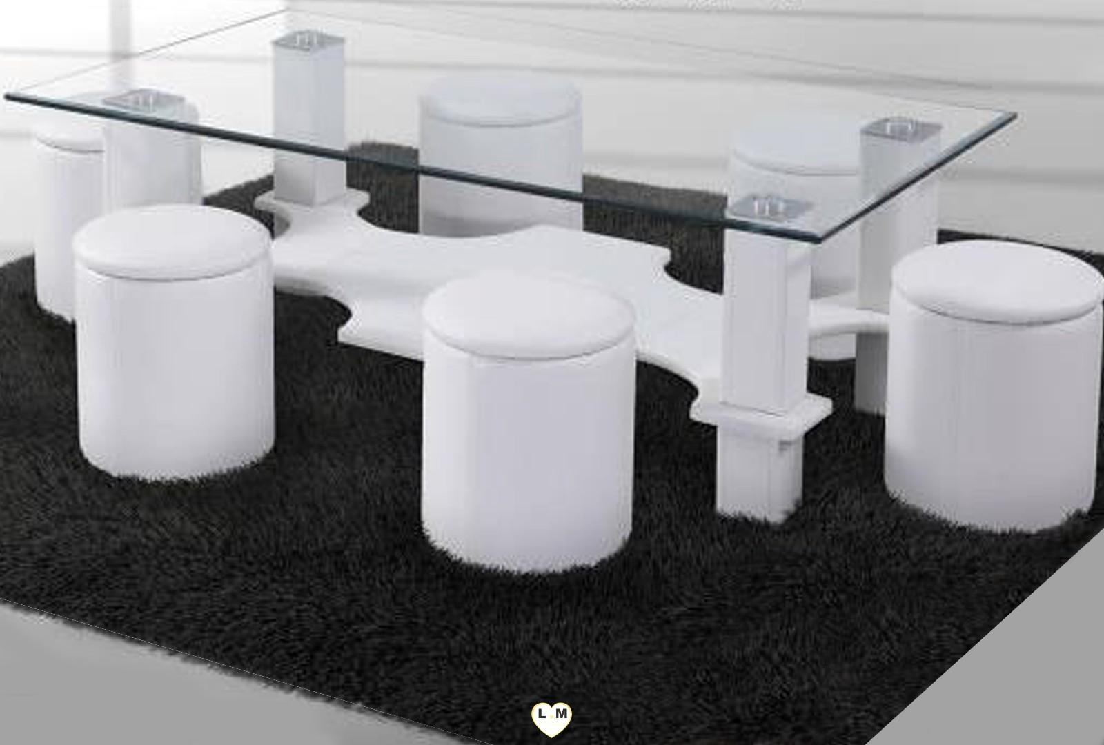 hugo table basse rectangulaire blanche votre site de. Black Bedroom Furniture Sets. Home Design Ideas